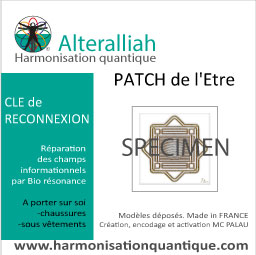 patch quantique harmonisant clé de l'Esprit -Alteralliah
