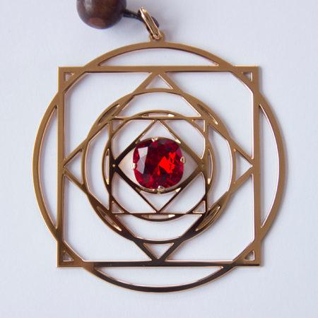bijou quantique harmonisant clé de conscience rubis -Alteralliah