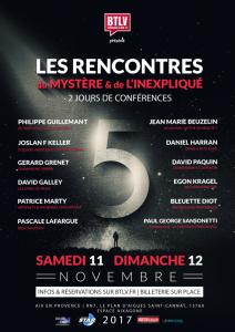 LES RENCONTRES DU MYSTÈRE et de L'INEXPLIQUÉ @ Lieu  Aixagone | Saint-Cannat | France