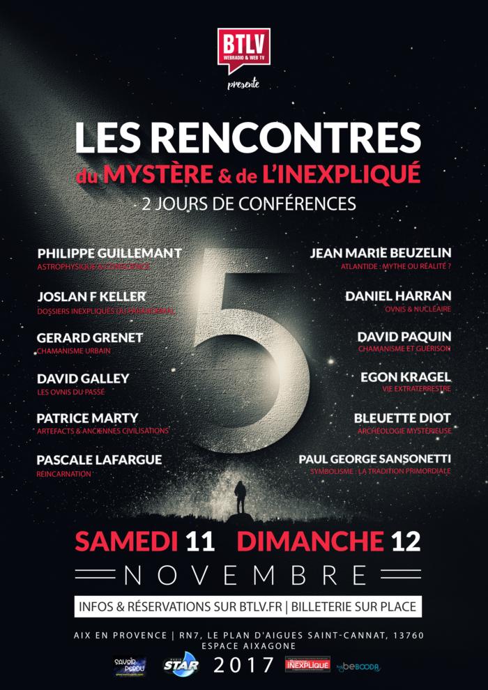 RENCONTRES du MYSTÈRE 2017 -Alteralliah