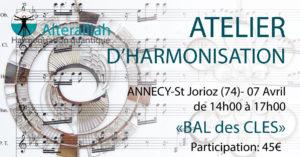 ATELIER HARMONISATION- ANNECY @ Annecy/Saint-Jorioz | Saint-Jorioz | Auvergne-Rhône-Alpes | France