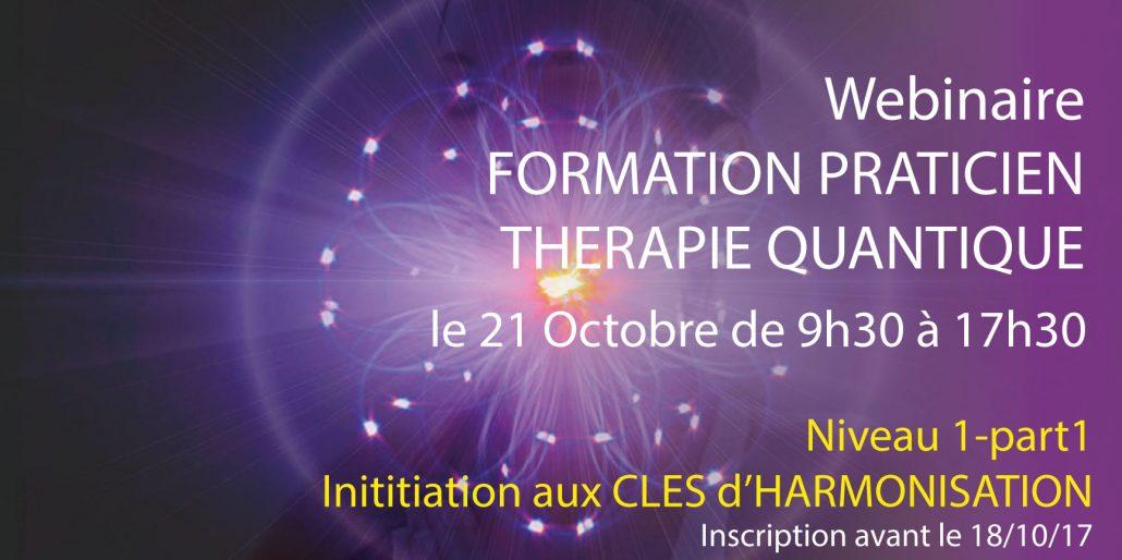 webinaire formation thérapie quantique multidimensionnelle niveau 1- Alteralliah