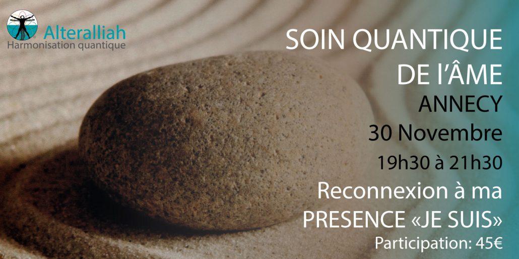 soin quantique collectif de l'âme Annecy-Alteralliah harmonisation quantique