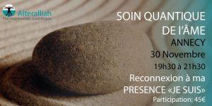 SOIN QUANTIQUE COLLECTIF DE L'ÂME à ANNECY @ MAISON AUSSEDAT salle Résistance | Annecy | Auvergne-Rhône-Alpes | France