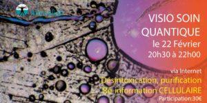 VISIO SOIN QUANTIQUE COLLECTIF Ré-information cellulaire @ chez vous
