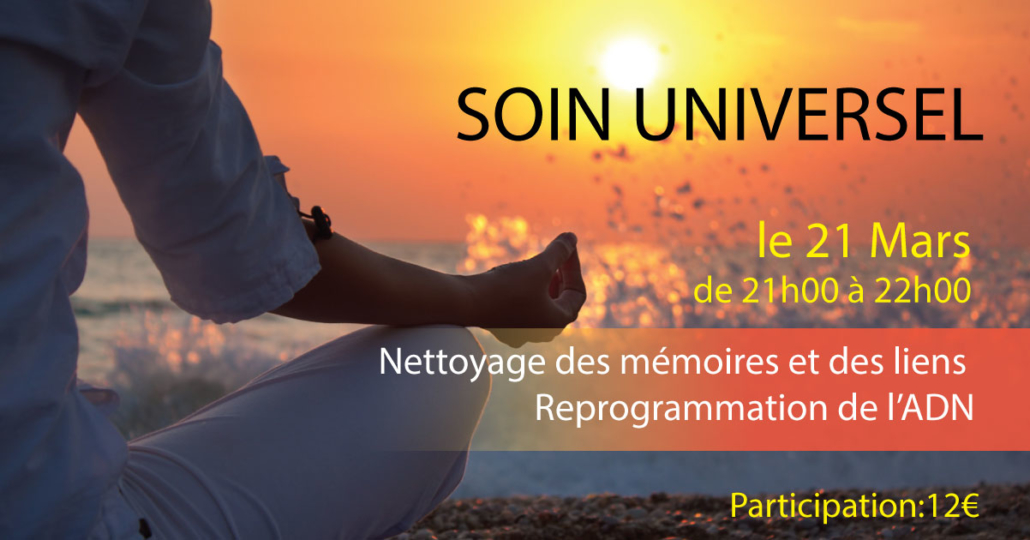 SOIN UNIVERSEL PRINTEMPS 2019 - Alteralliah-Harmonisation quantique