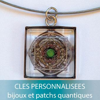 Clés quantiques personnalisées