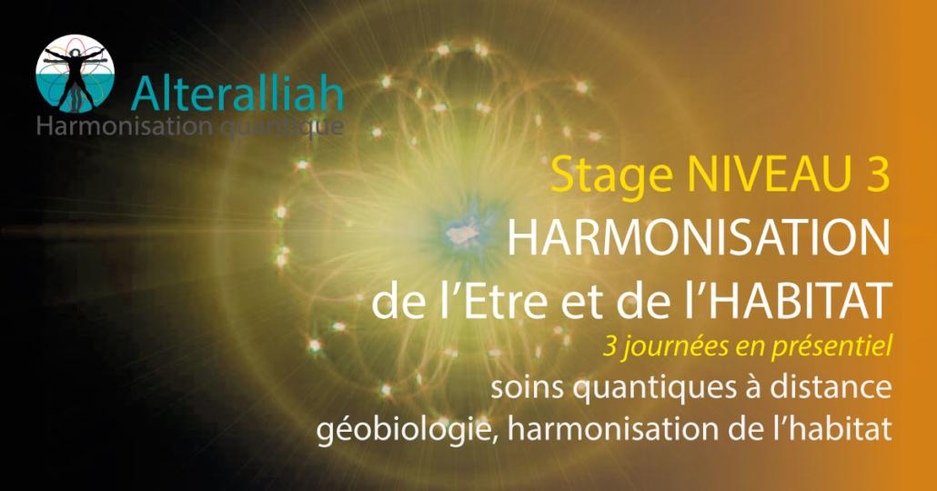 formation praticien thérapie quantique - géobiologie-médecine de l'habitat - niveau 3 - Alteralliah harmonisation quantique