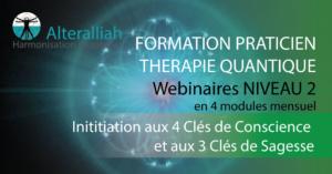 WEBINAIRES FORMATION PRATICIEN THÉRAPIE QUANTIQUE NIVEAU 2 @ Alteralliah | Saint-Jorioz | Auvergne-Rhône-Alpes | France