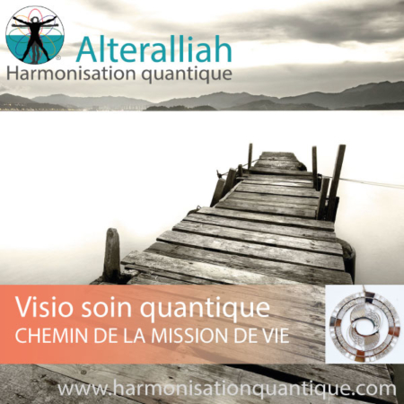 Visio soin quantique en replay - CHEMIN DE LA MISSION DE VIE- Alteralliah- Harmonisation quantique