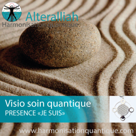 Visio soin quantique en replay RE-INFORMATION CELLULAIRE- Alteralliah- Harmonisation quantique