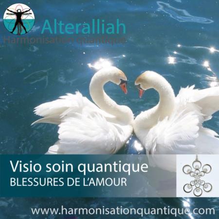 Visio soin quantique en replay REPARATION DES BLESSURES DE L'AMOUR- Alteralliah- Harmonisation quantique