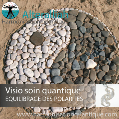 Visio soin quantique en replay EQUILIBRAGE DES POLARITES- Alteralliah- Harmonisation quantique