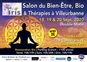 SALON LYON - Bien-être, bio et thérapies 2020 @ Double Mixte | Villeurbanne | Auvergne-Rhône-Alpes | France