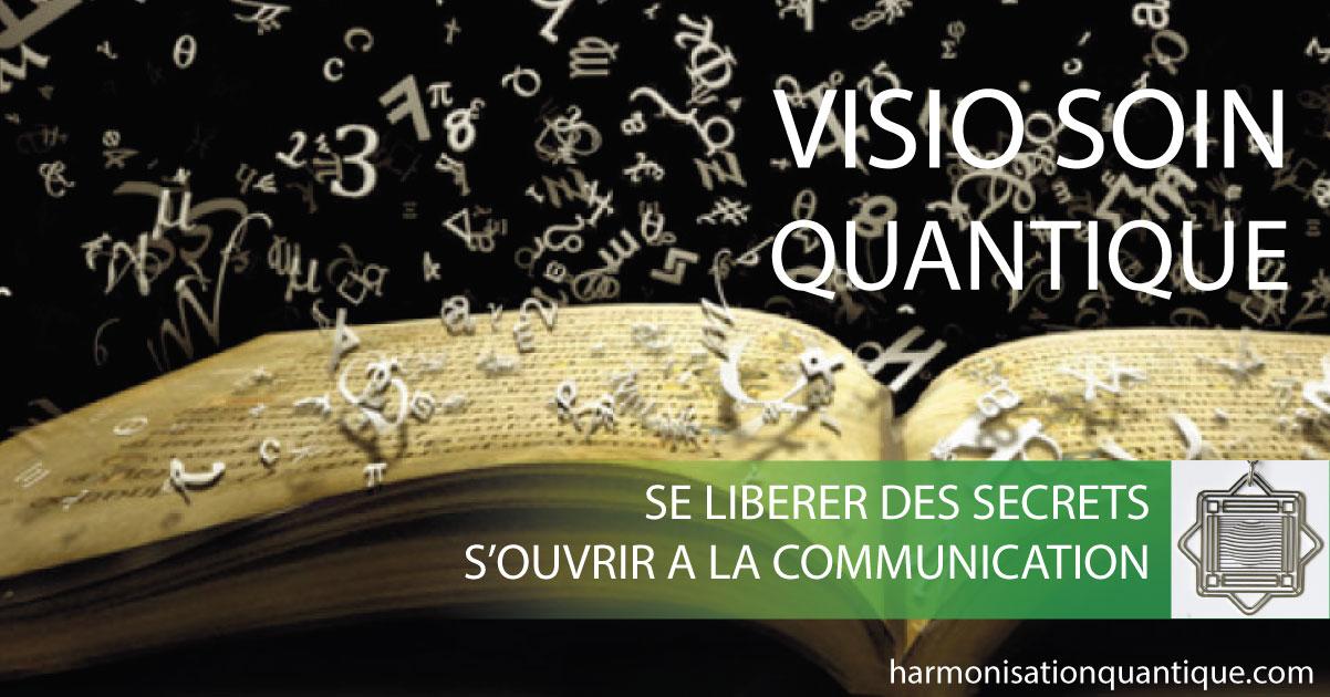 Visio soin quantique , Libération des secrets, connexion à l'Esprit, ouverture à la Communication Alteralliah - Harmonisation quantique