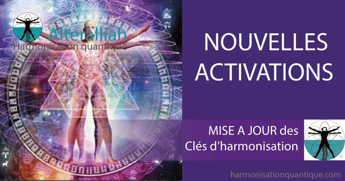 Mise à jour des cles d'harmonisation- Alteralliah-Harmonisation quantique